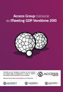 Access partenaire du Meeting GDP Vendôme 2013