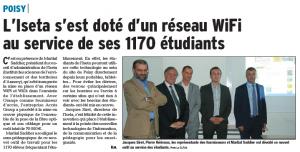Access télécom au Lycée de Poisy ISETA - solution wifi