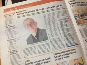 Access Group dans le Dauphiné Entreprises