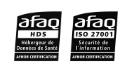 Certification HDS (Hébergeur de données de santé) / ISO 27001