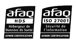 ACCESS possède l'agrément HDS / ISO 27001