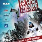 Coupe du monde de Freestyle Megève 2012 - Affiche