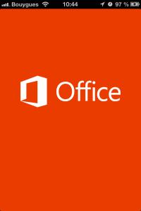 Nouveau : Appli Office sur iOS